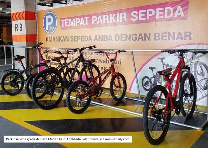 Mal dan Kantor, Wajib Siapkan Parkiran Sepeda