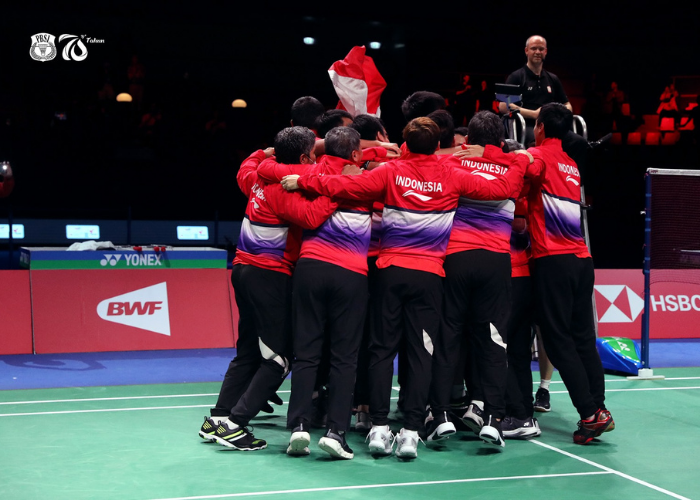 Indonesia Berhasil Menjuarai Piala Thomas 2020