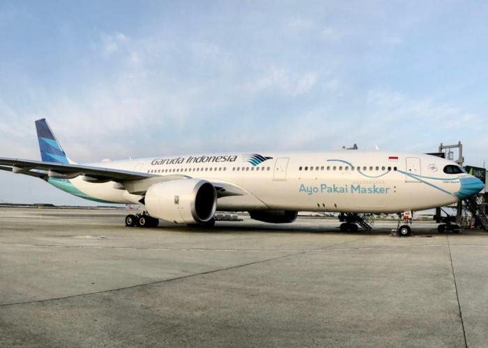 Garuda Dinobatkan Sebagai Maskapai dengan Prokes Terbaik Dunia