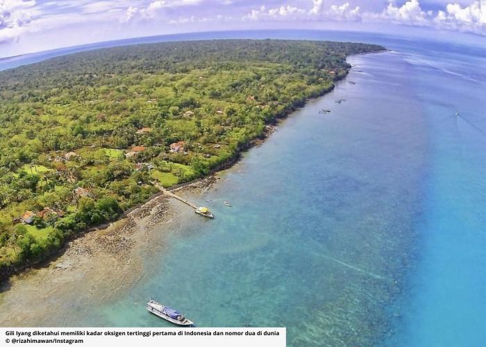Gili Iyang, Pulau Oksigen di Madura dengan Kadar Udara Terbaik Nomor 2 di Dunia