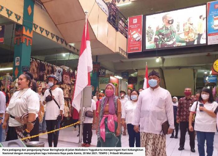 Lagu Indonesia Raya Bergema Setiap Hari di Jogja