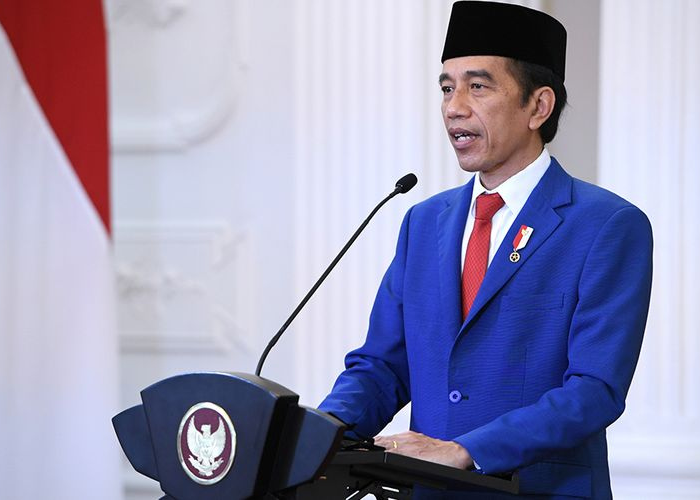 Jokowi Sampaikan Pidato Sidang PBB Melalui Virtual