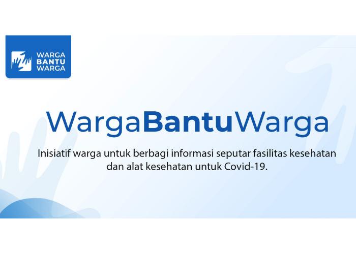 Lawan Pandemi Lewat Wargabantuwarga.com