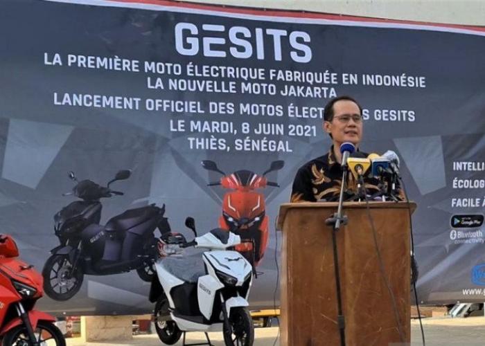 Bangga! Motor Listrik Buatan Indonesia Tembus Pasar Senegal