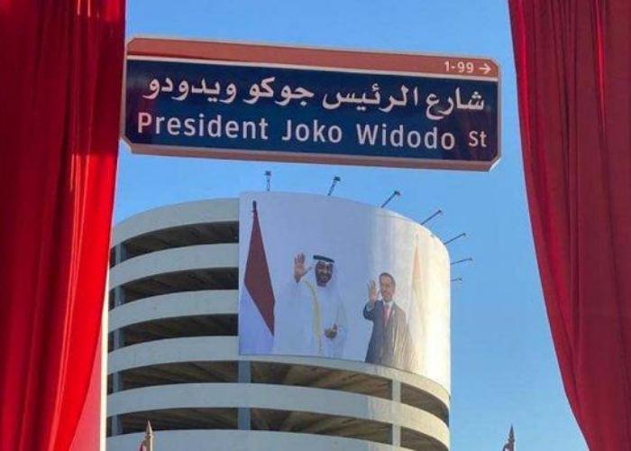 Pemerintah UEA Resmikan Nama Jalan Presiden Joko Widodo
