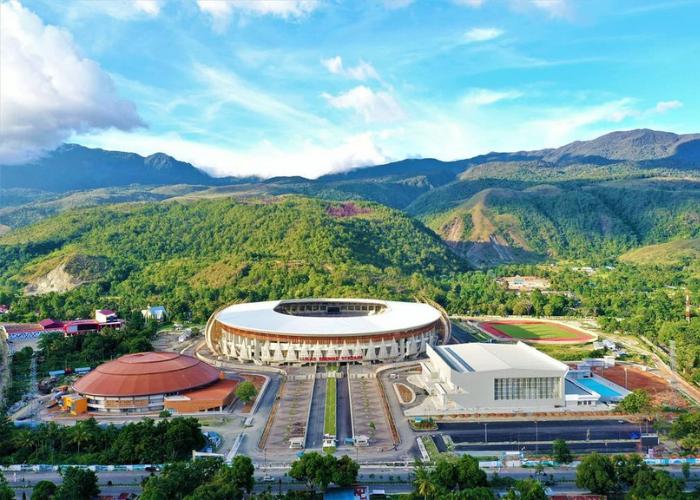 Wajah Baru Stadion Papua Bangkit Berstandar Internasional