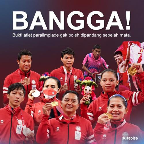 Indonesia Ukir Sejarah di Ajang Paralimpiade Tokyo 2020