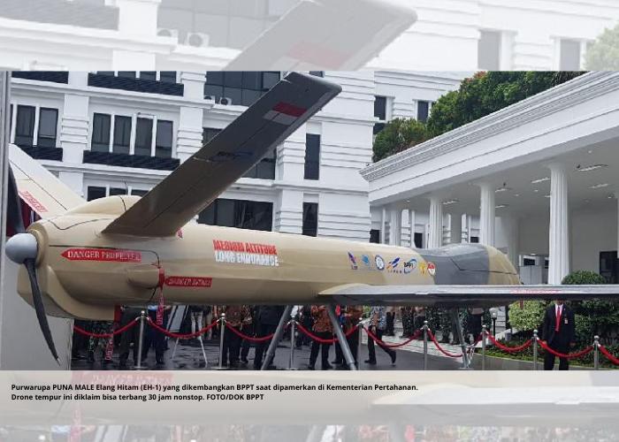 Drone Buatan Anak Bangsa Siap Jaga Indonesia Dari Udara