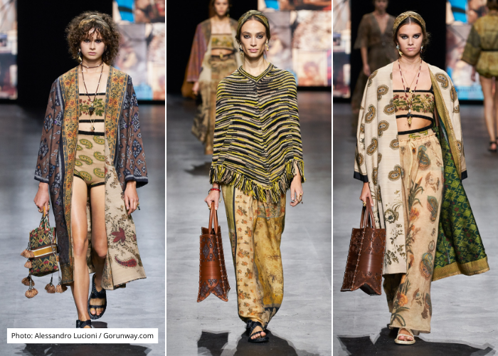 Kain Endek Bali Masuk Koleksi Christian Dior Spring/Summer 2021