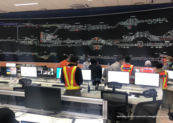 Bangga! Indonesia Punya Pusat Kendali Kereta Tercanggih se-Asia Tenggara