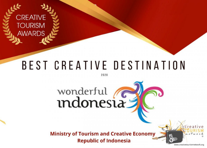 Wonderful Indonesia Raih 'Best Creative Destination' di Creative Tourism Awards 2020