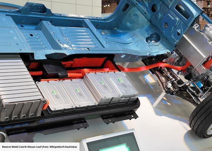 Indonesia Punya Perusahaan Baterai Kendaraan Listrik