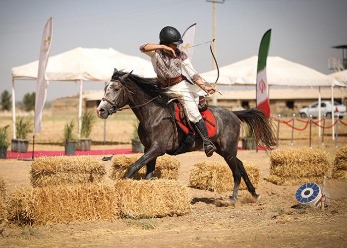 Merah Putih Berkibar di Kejuaraan Dunia Panahan Berkuda