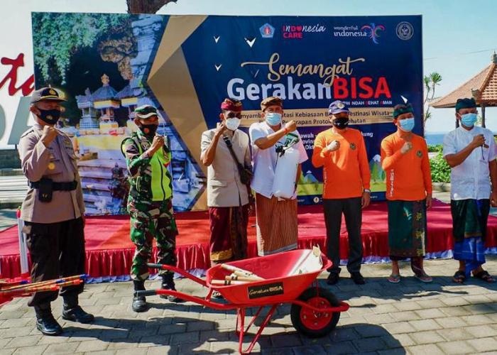 Kemenparekraf Gelar Gerakan BISA di 4 Destinasi Wisata Bali