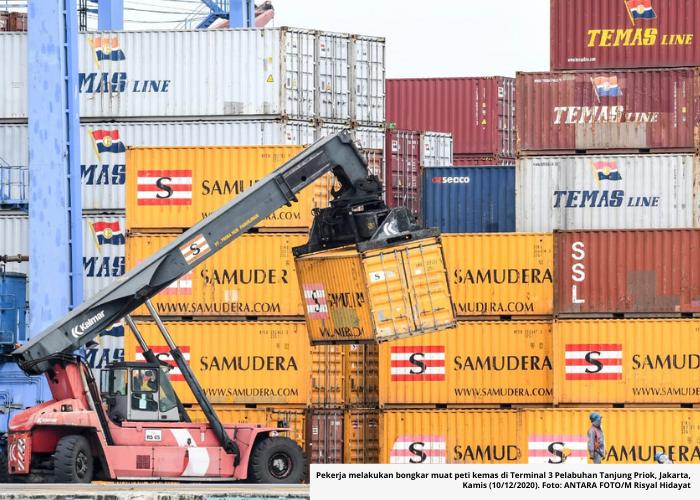 Perdagangan Indonesia Rekor Surplus Tertinggi Sejak 2011