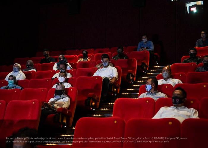 Kebiasaan Baru Nonton Bioskop, Harus Dipatuhi Ya!