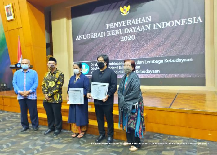 Erwin Gutawa Dapat Anugerah Kebudayaan Indonesia 2020