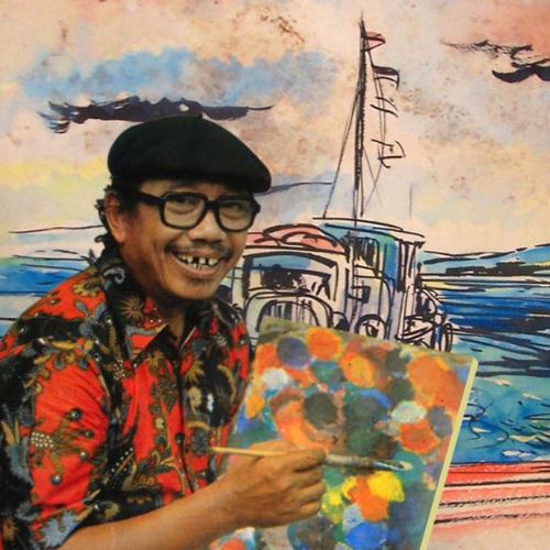 Tino Sidin, Sosok Dibalik Gambar Google Edisi Hari Guru Nasional