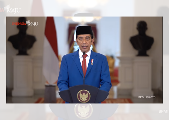 Pidato Presiden Jokowi Saat Sidang Umum PBB  ke-75 PBB