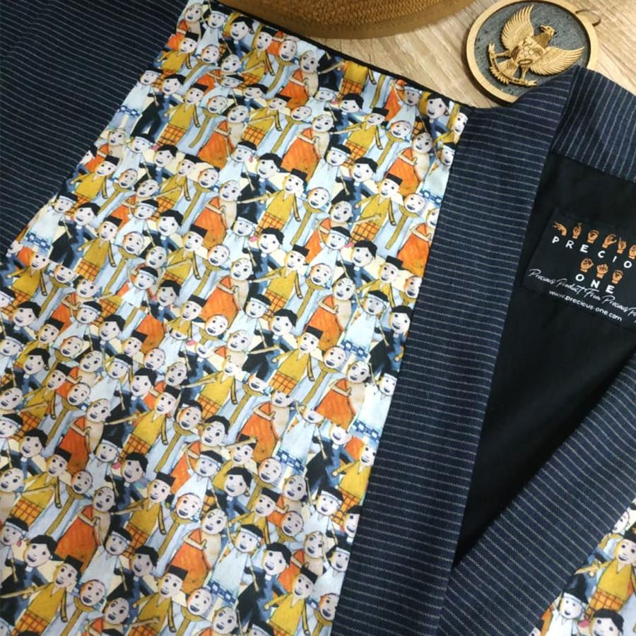 "Outer Kimono ""Kerukunan Umat"" Kolaborasi Abhy"