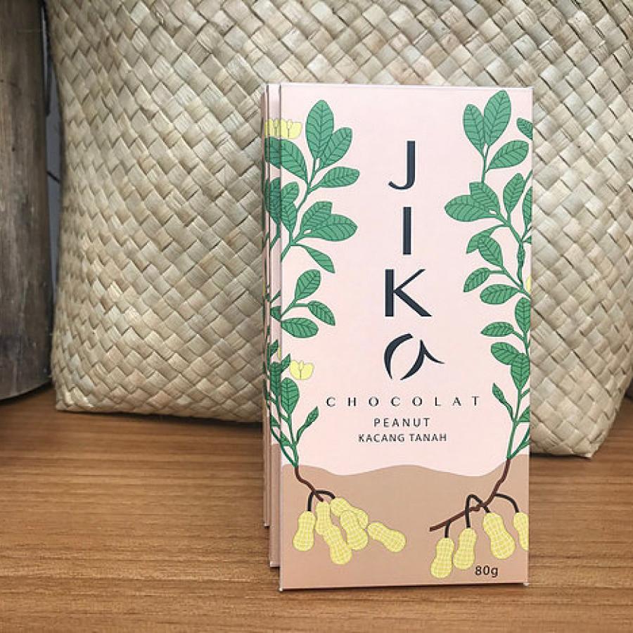 Indonesian Dark Chocolate with Peanuts - JIKA 80g