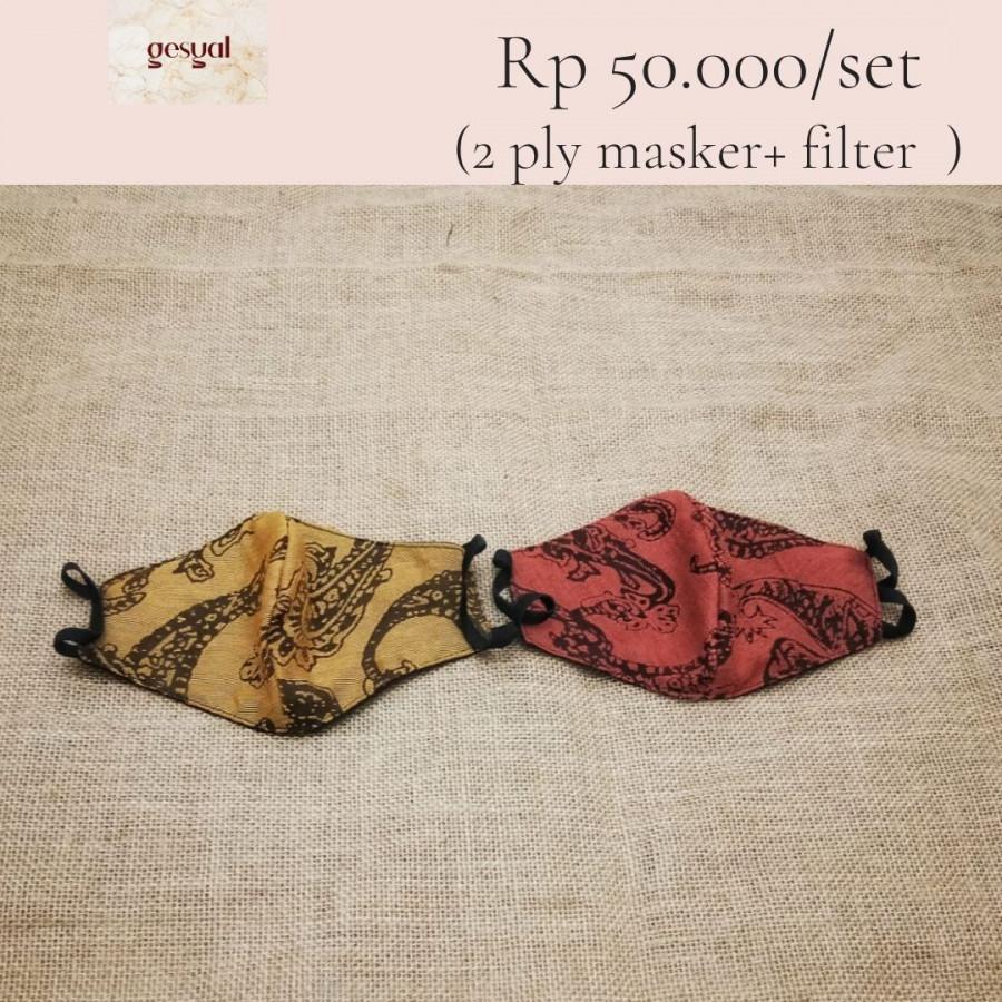 GESYAL Masker Premium Fashion  2 Lapis Filter Set  C71 C72
