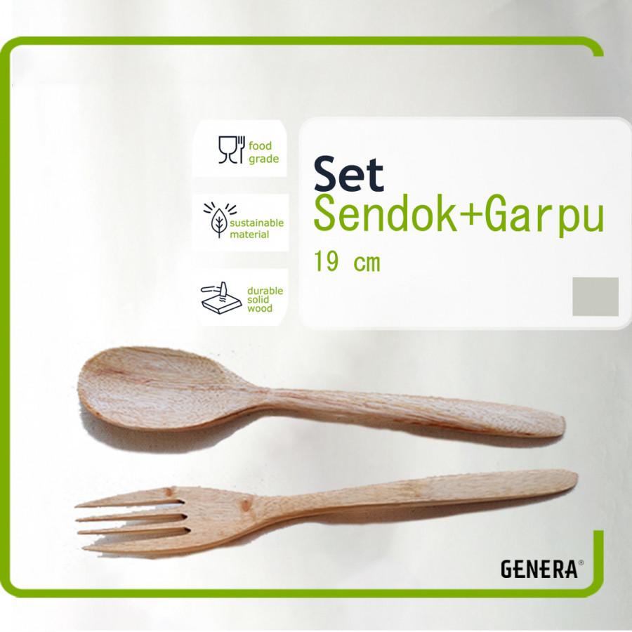 GENERA SET Sendok Makan