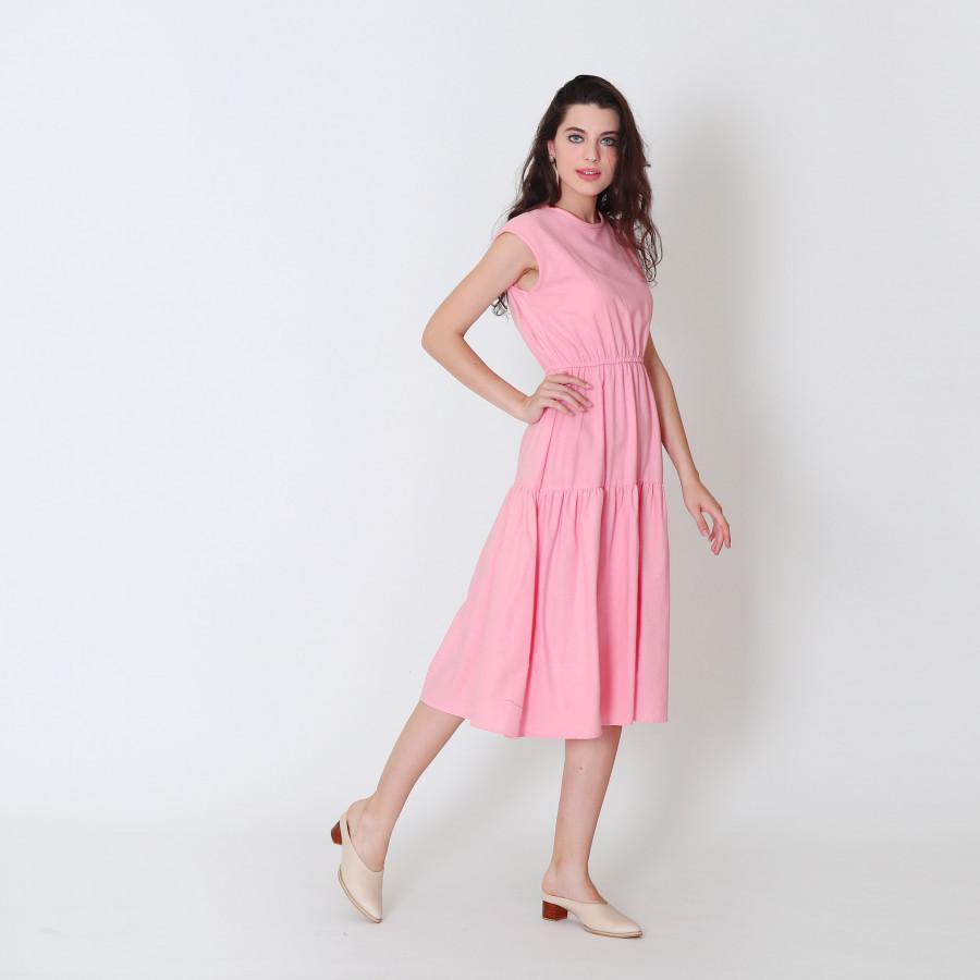 Furaha Tabia Linen Dress