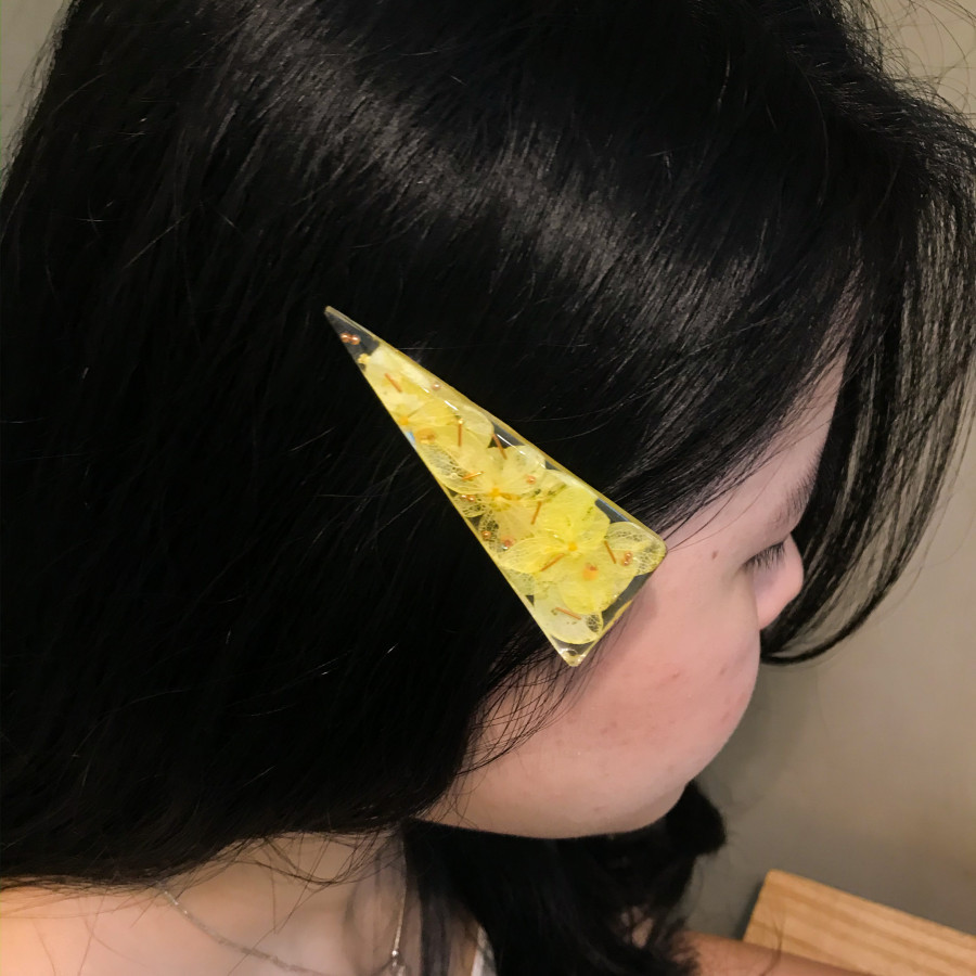 Jepit Rambut Bunga