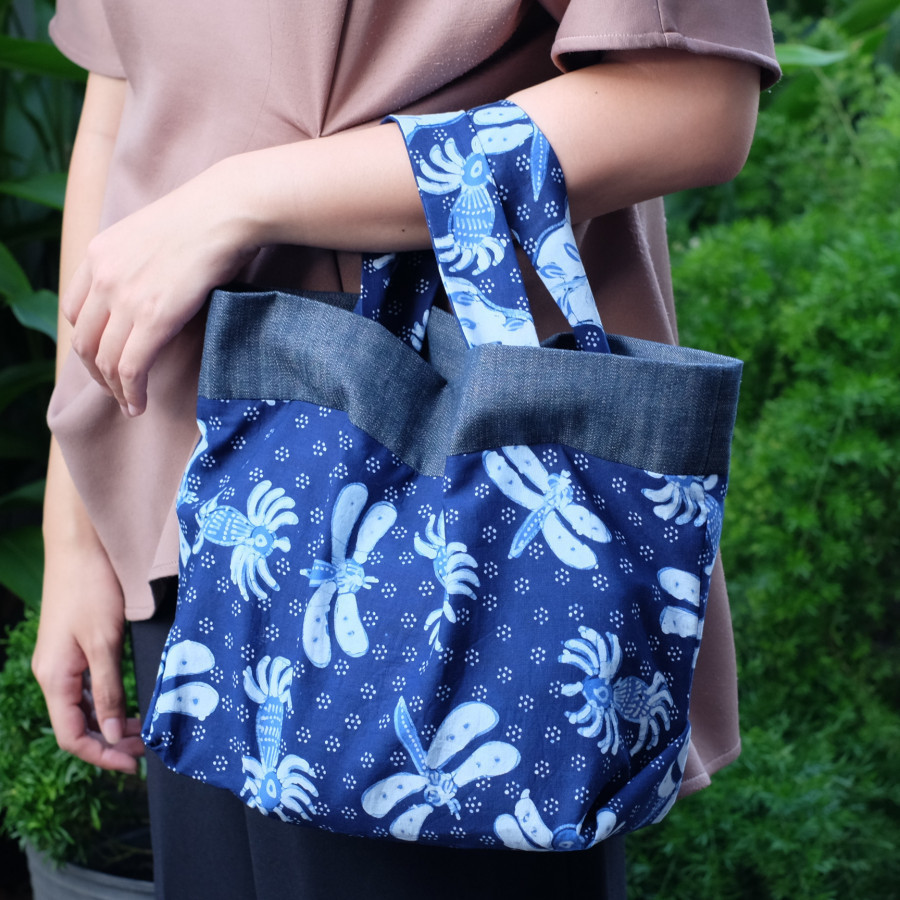 Batik Lasem Handbag - Batik Capung