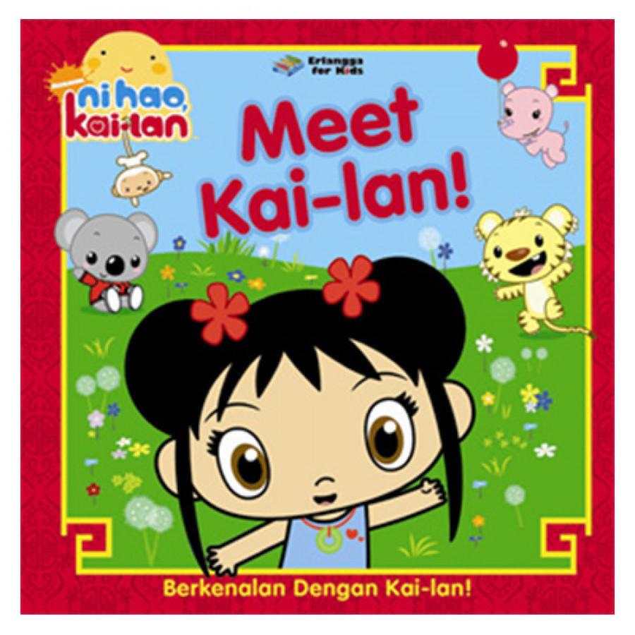 Erlangga For Kids - Ni Hao Kai Lan: Berkenalan Dg Kai Lan # - 2008080540