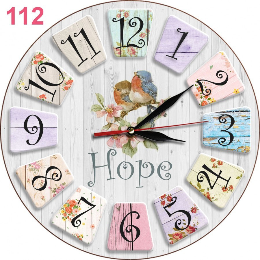 112 Jam Dinding Dekorasi Ruang Cantik Elegan Shabby Chic Cocok Untuk Kado  Souvenir 06f274f346