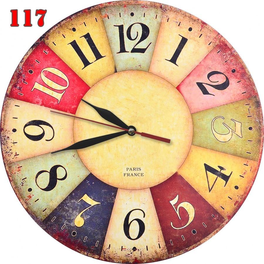 117 Vintage Jam Dinding Keren Hiasan Interior Motif Plate Nuansa Klasik ce4229233e
