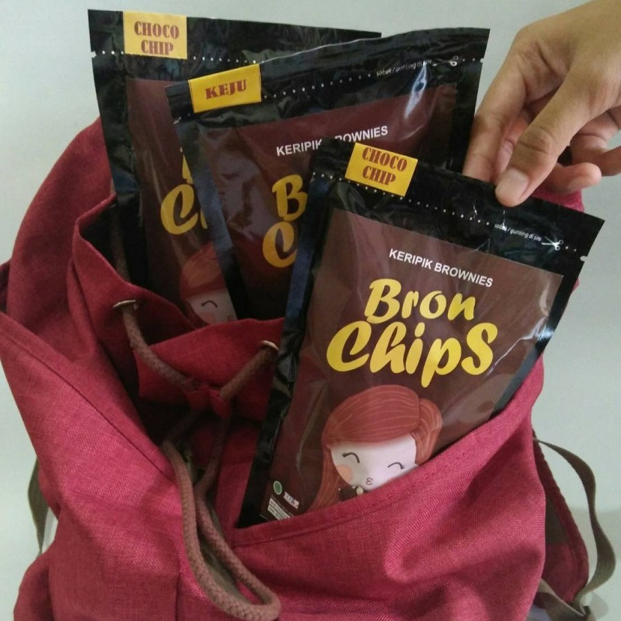 keripik brownies bronchips rendom