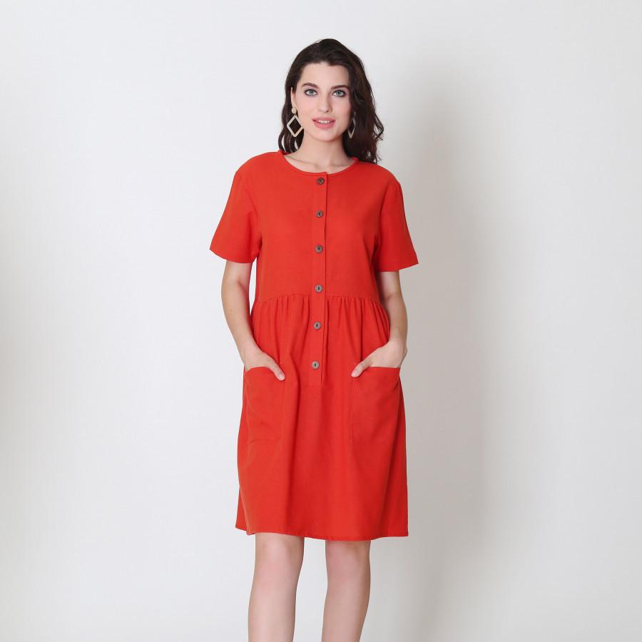 Furaha Penda Linen Dress