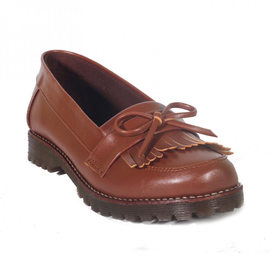 Victoria Brown | Lvnatica Footwear Sepatu Formal Wanita