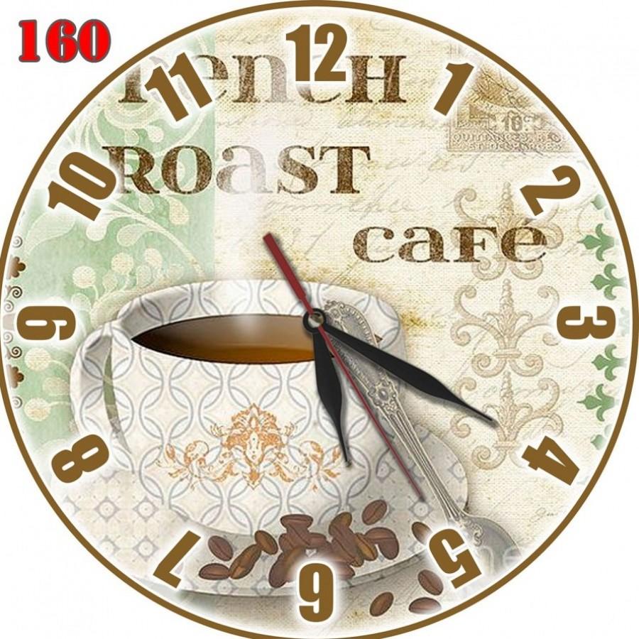160 Hiasan Jam Dinding Retro Motif Roast Cafe - Ku Ka b13ab645bc