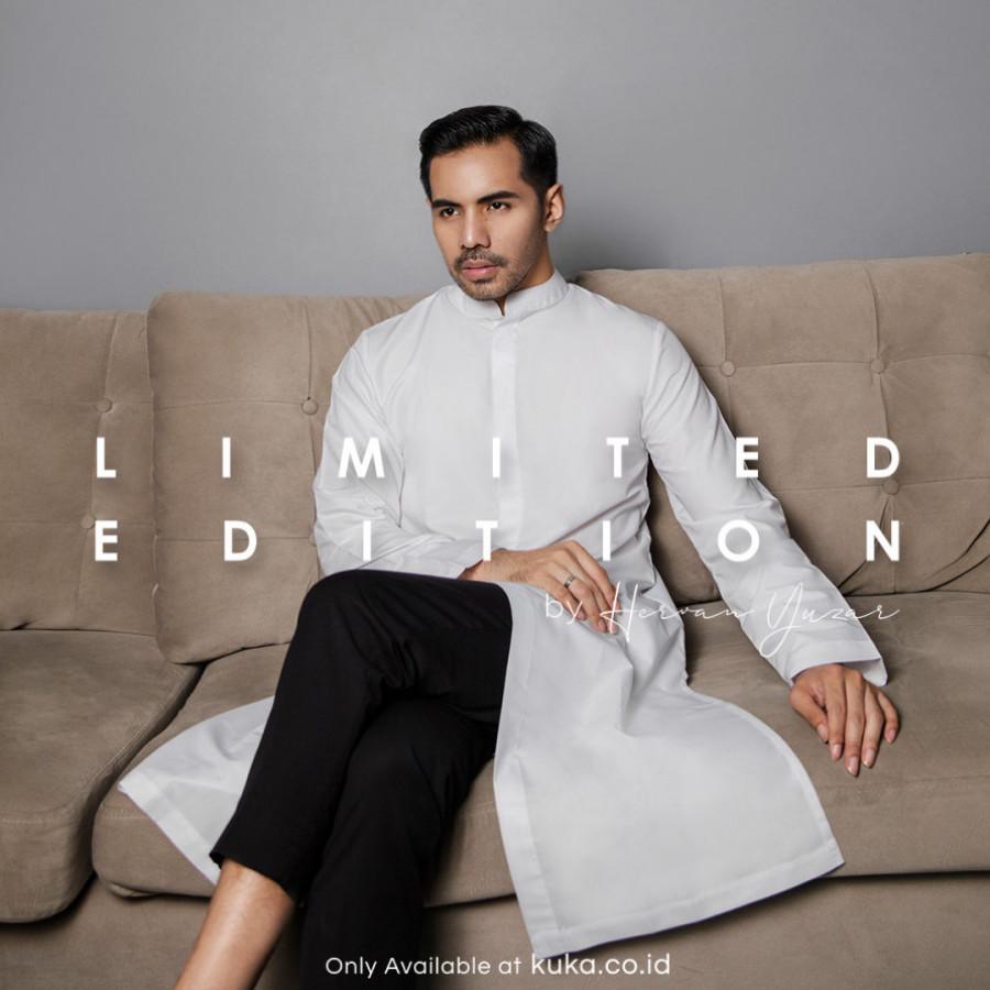 Adley Koko White Ramadan Collection HRC001.19.WH