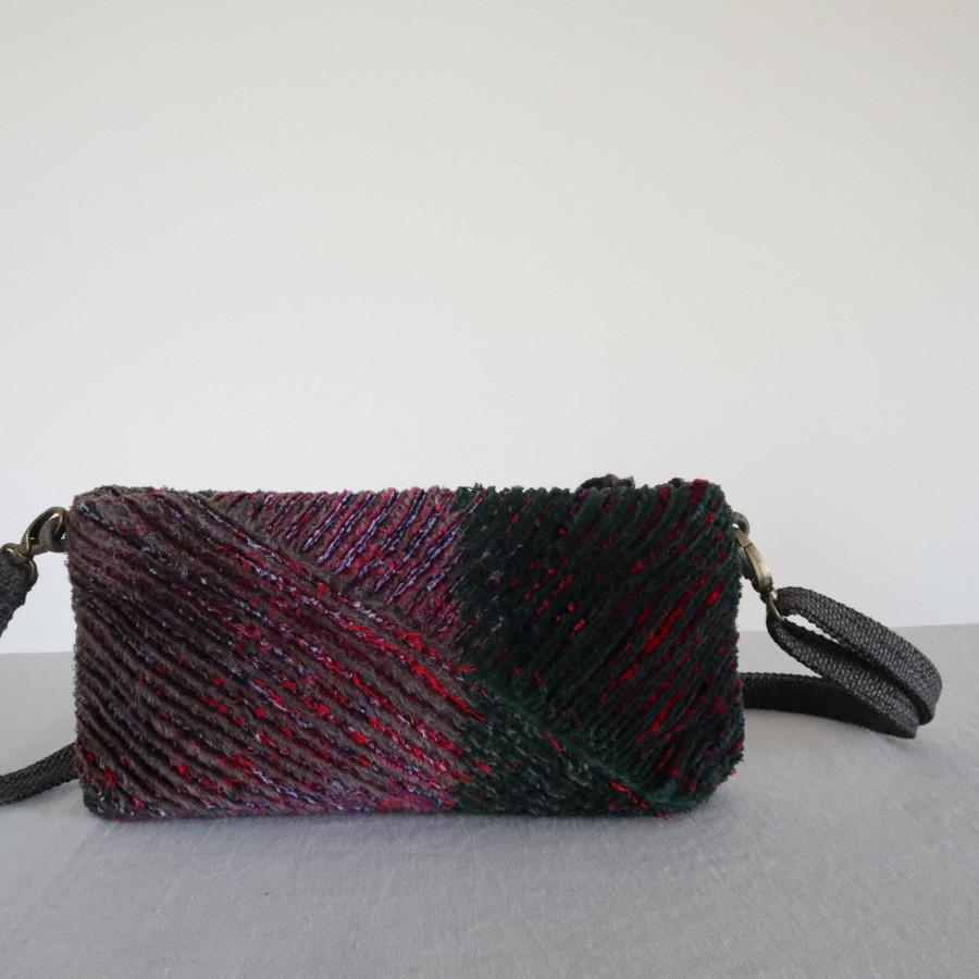 Sierra green sling-clutch