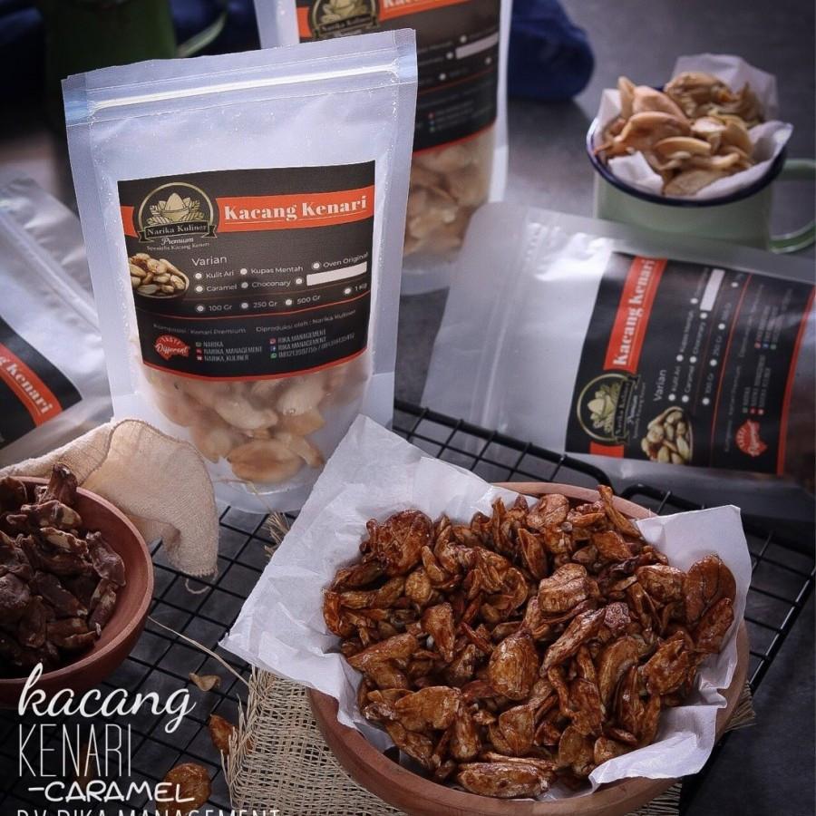 100 Gram Caramel Roasted Kenari Nuts