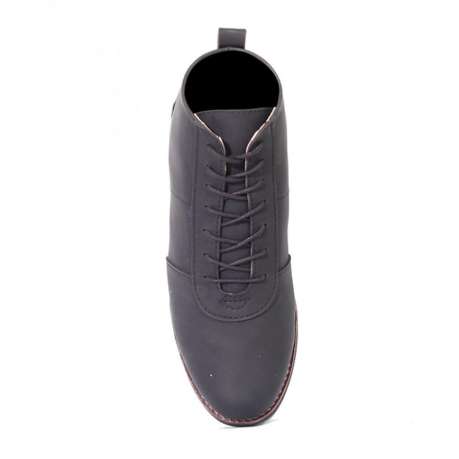 Scout Black | Zensa Footwear Sepatu Boots Pria
