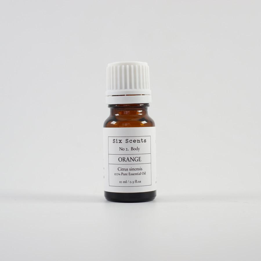 Six Scents - Orange Essential Oil (10ml)