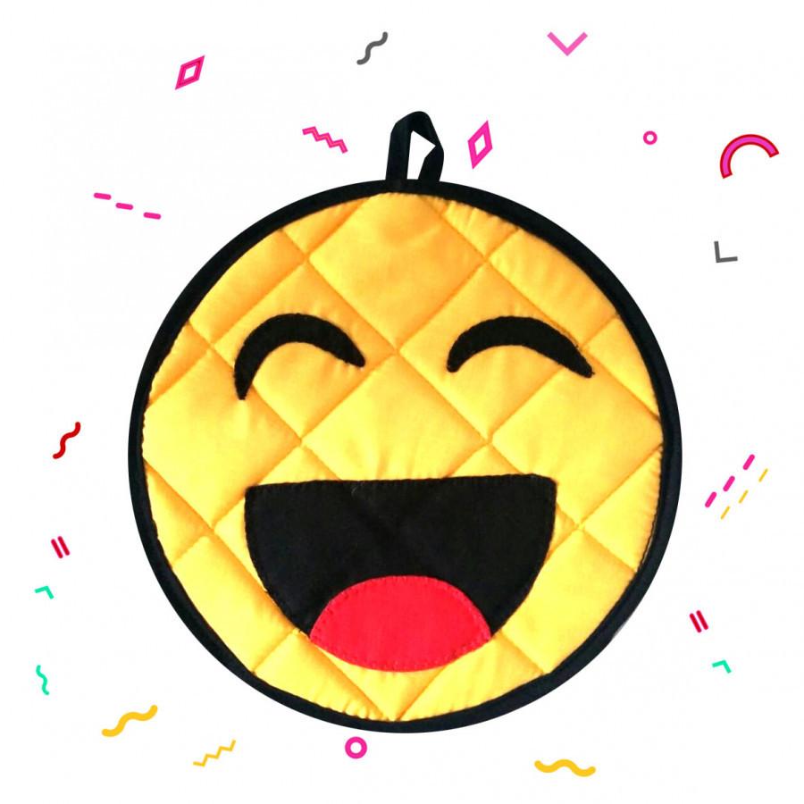 Tatakan Emoticon / Emoji Emoticon One Eye Pot Holder - Yellow