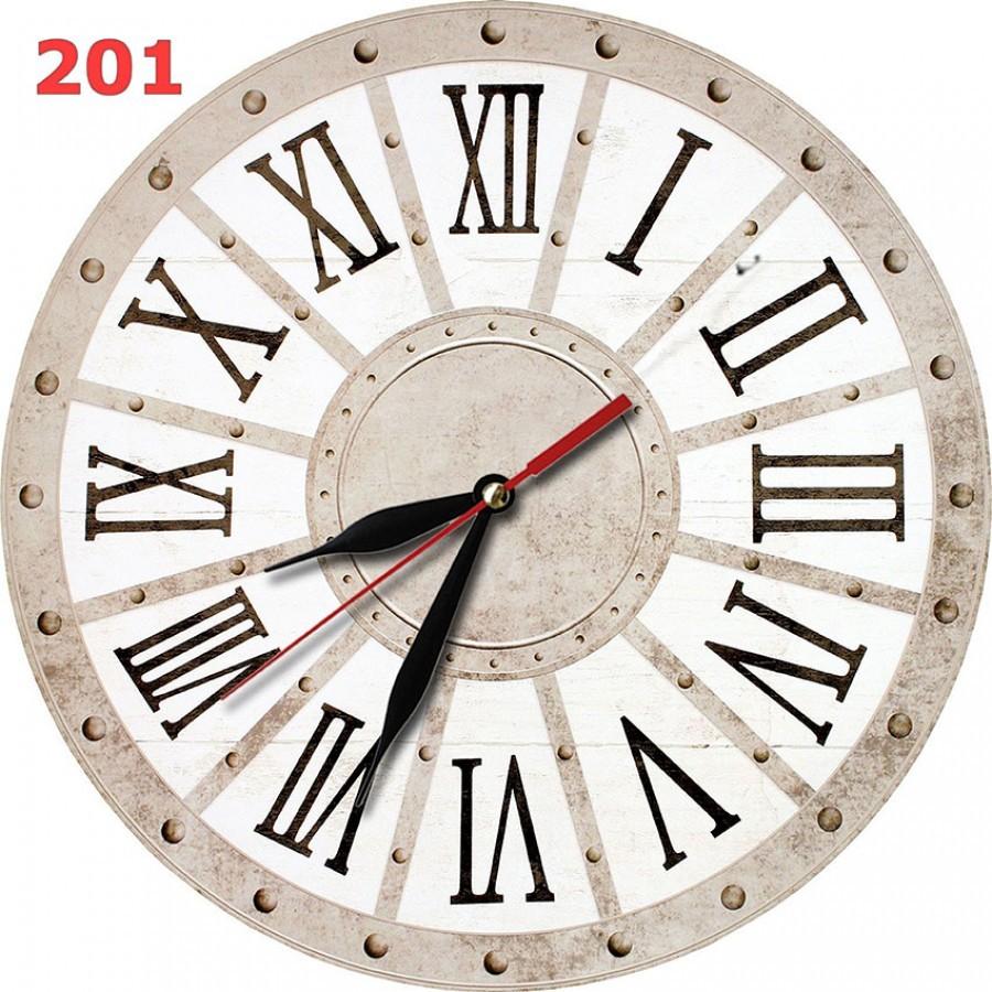 201 Jam Dinding Coklat MDF Dekorasi Keren Motif Rustic - Ku Ka bd111f6dae