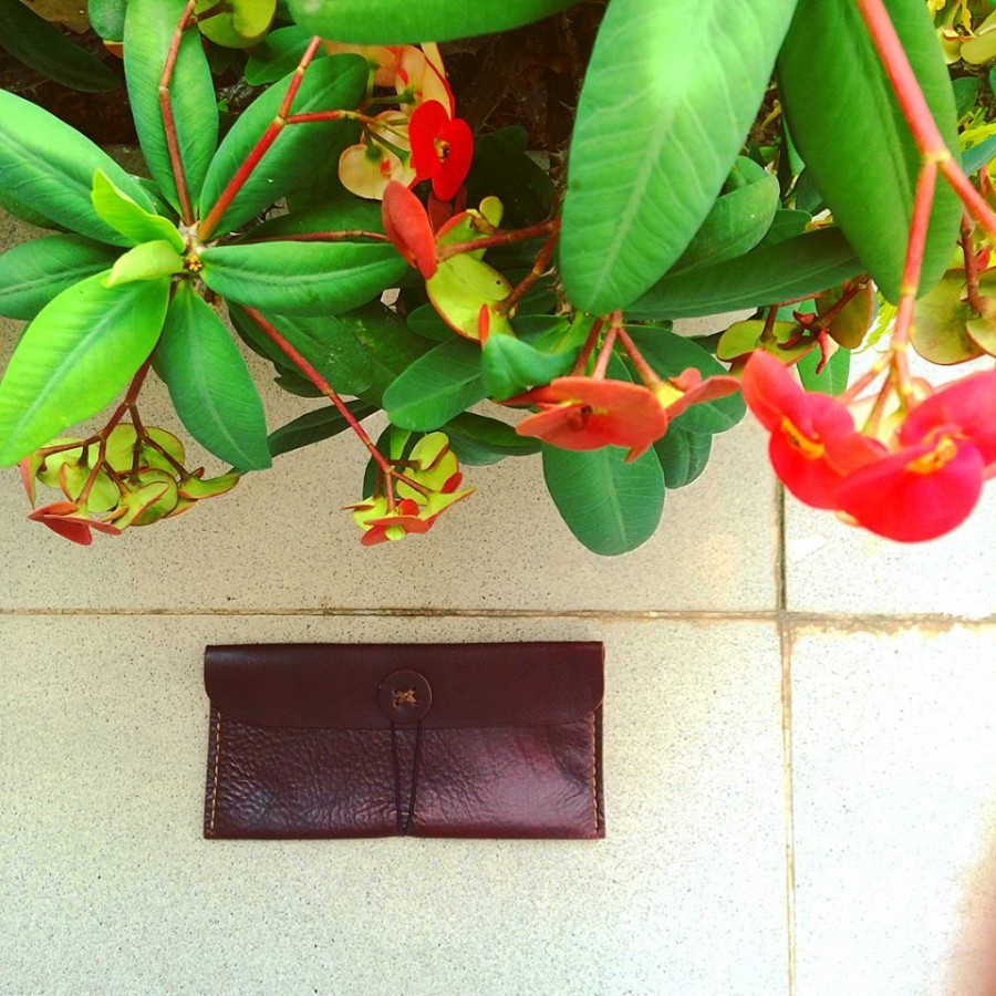 Money/Iphone Wallet (color dark brown) dompet uang panjang