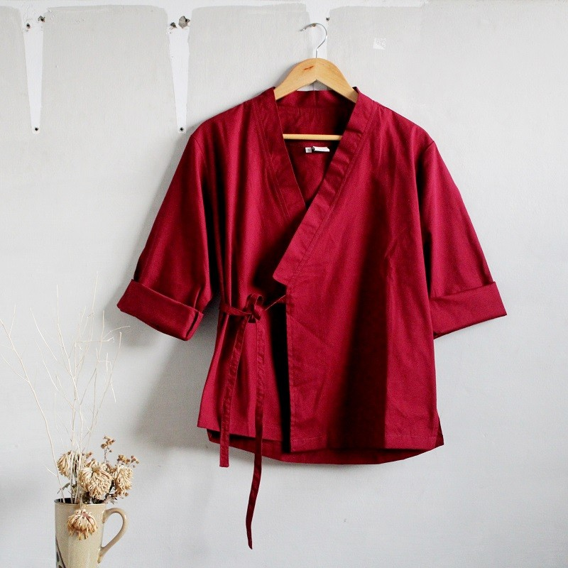 OUTER BASIC MAROON
