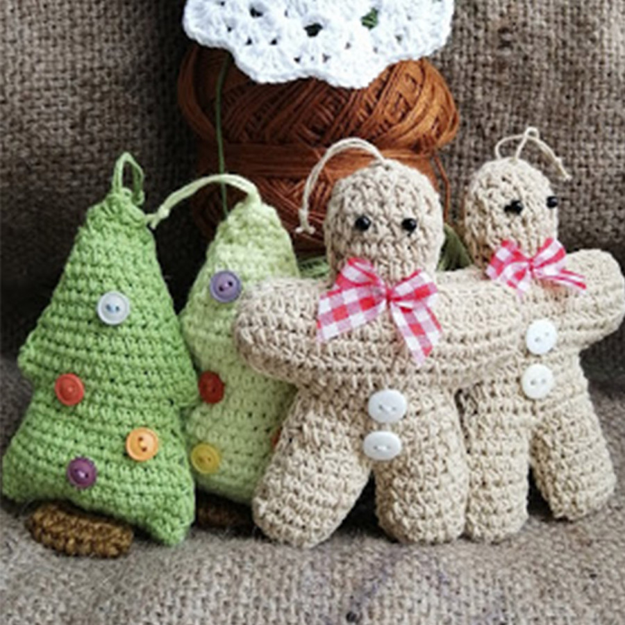 Christmas Crochet Decoration