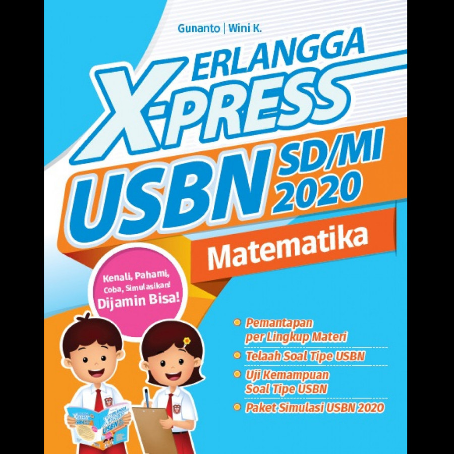 ERLANGGA X-PRESS USBN SD/MI 2020 MATEMATIKA