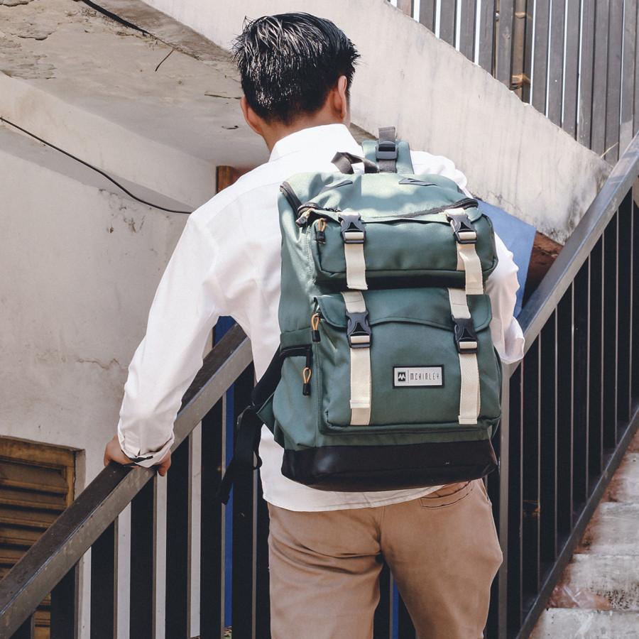 MCKINLEY SHIFTER GREEN - LVNATICA FOOTWEAR - Tas Selempang Pria Casual Outdoor