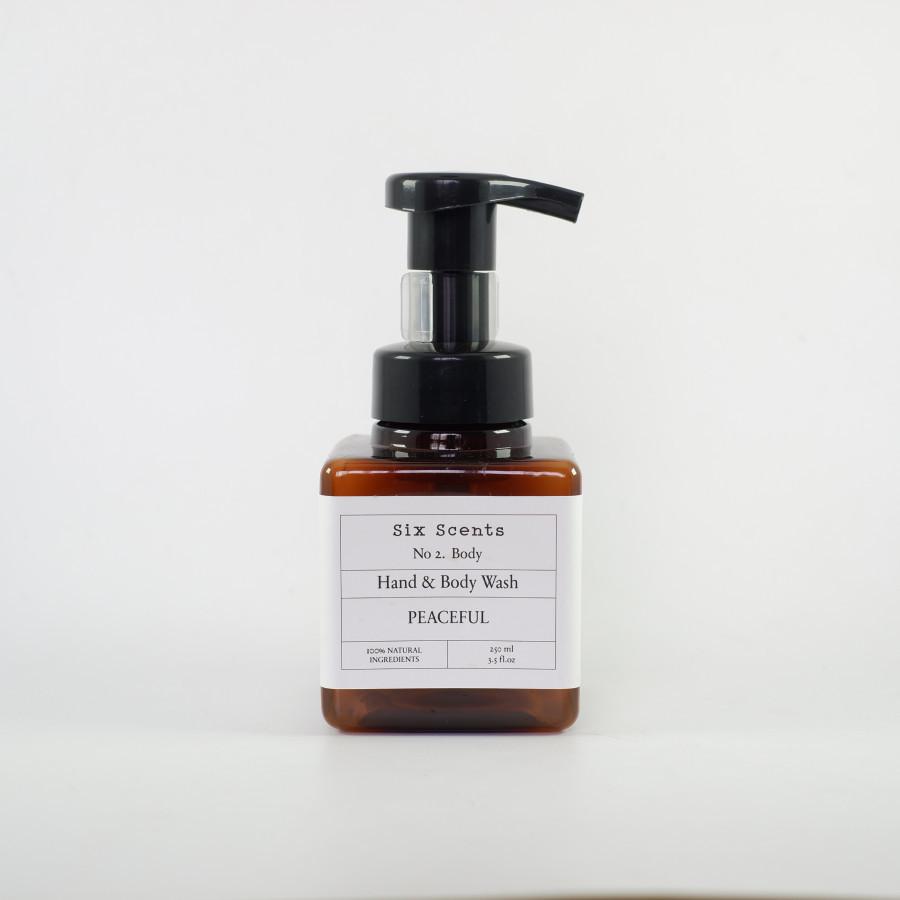 Six Scents - Peaceful Hand & Body Wash (250ml)
